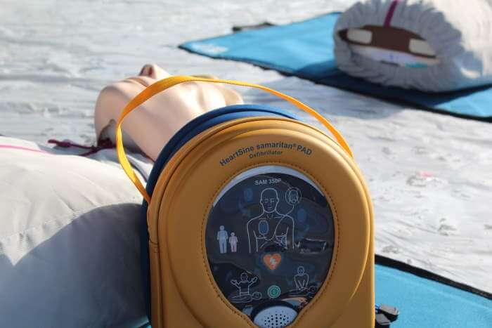 Instructies voor gebruik defibrillator