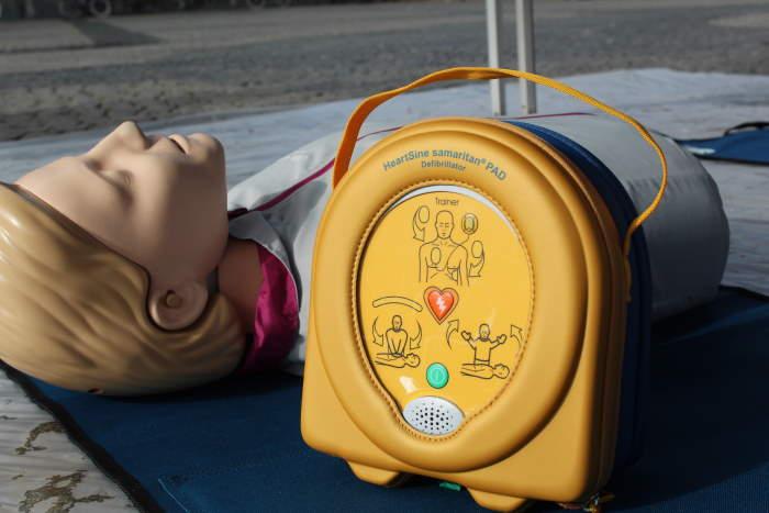 Werking van een defibrillator