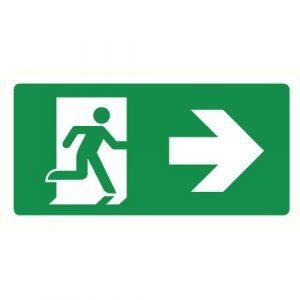 Symbolen EHBO en evacuatie
